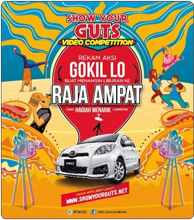 TOYOTA YARIS - SHOW YOUR GUTS VIDEO COMPETITION