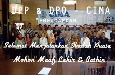 DPP / DPO mengucapkan selamat menjalankan ibadah Ramadhan 1439H