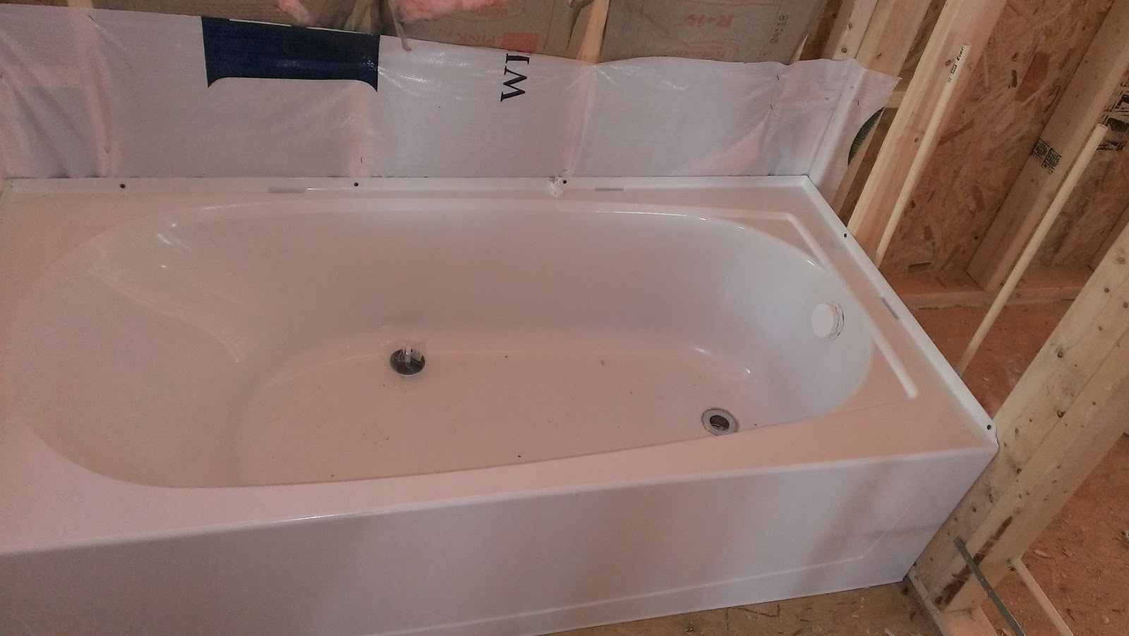 From The Ground Up: New Ryan Homes Master Tub
