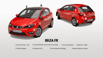 سعر سيارة سيات ايبيزا Seat Ibiza FR  في الجزائر