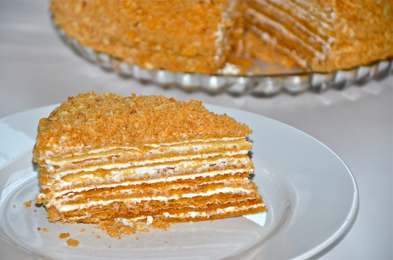 Russian Sour Cream Cake