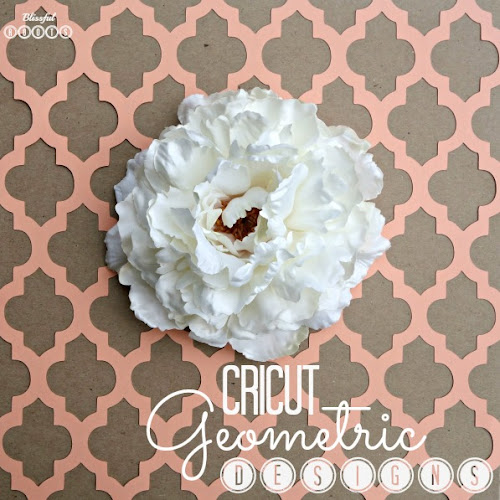 Cricut Geometric Home Decor from Blissful Roots