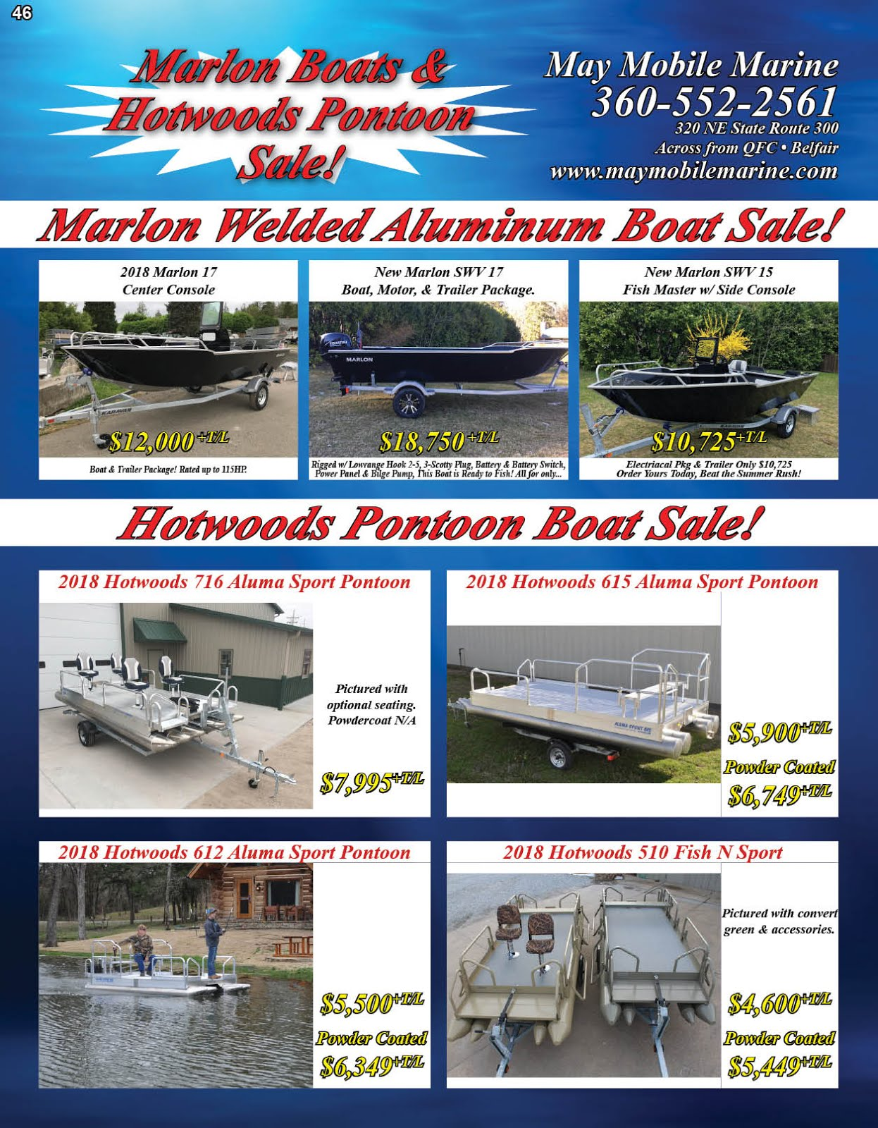 May Mobile Marine Sale!!