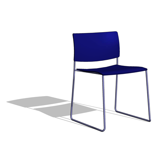 Revit Components Free Family Andreu World Sit Side