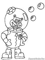Mewarnai Gambar Sandy Spongebob