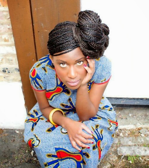 Coiffure africaine enfant - Tresse colle pour petite fille ...
