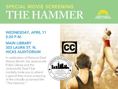 The Hammer movie including American Sign Language