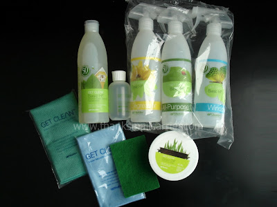 Shaklee cleaning products