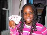 Teaching my daughter to play poker