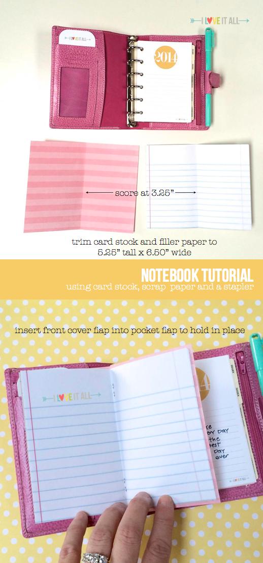 filofax friday notebook tutorial | iloveitallwithmonikawright.com