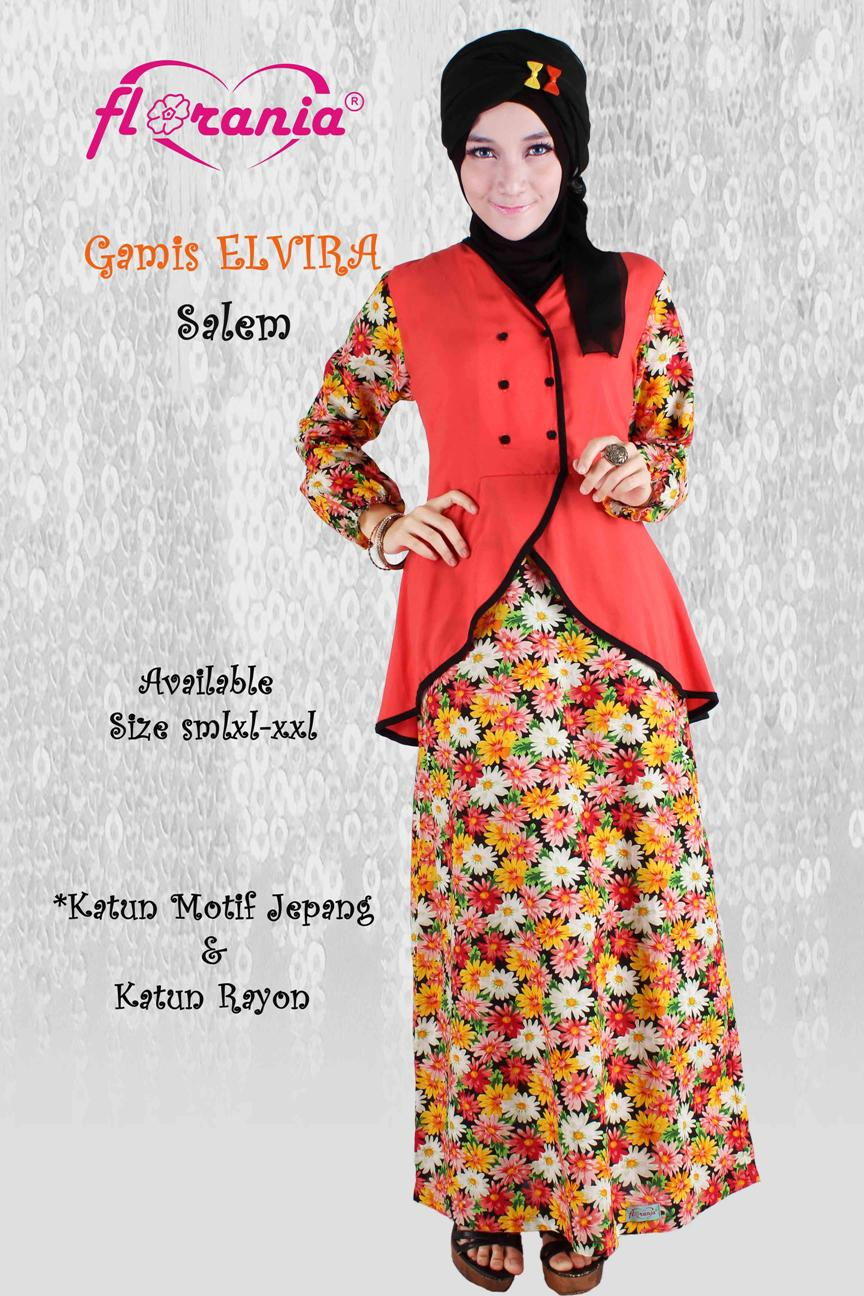 Koleksi Busana Muslimah Baju Couple Muslim Dress Cantik