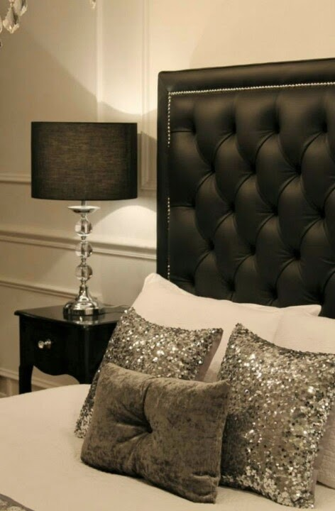 Lush fab glam blogazine pretty in sequins and metallic for Glam bedroom decor