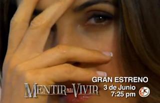 Trailer oficial de ¨Mentir para Vivir¨ ¡Estrena este lunes por el ...