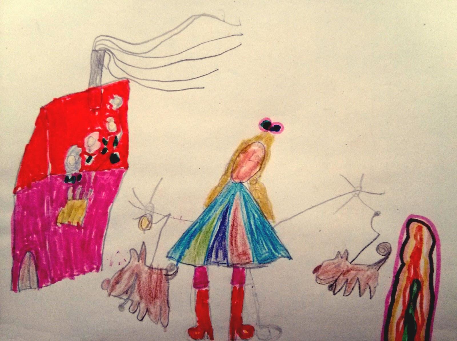 Dibujo Lourdes Cosas que Siento