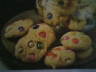 rainbow choco soft cookies