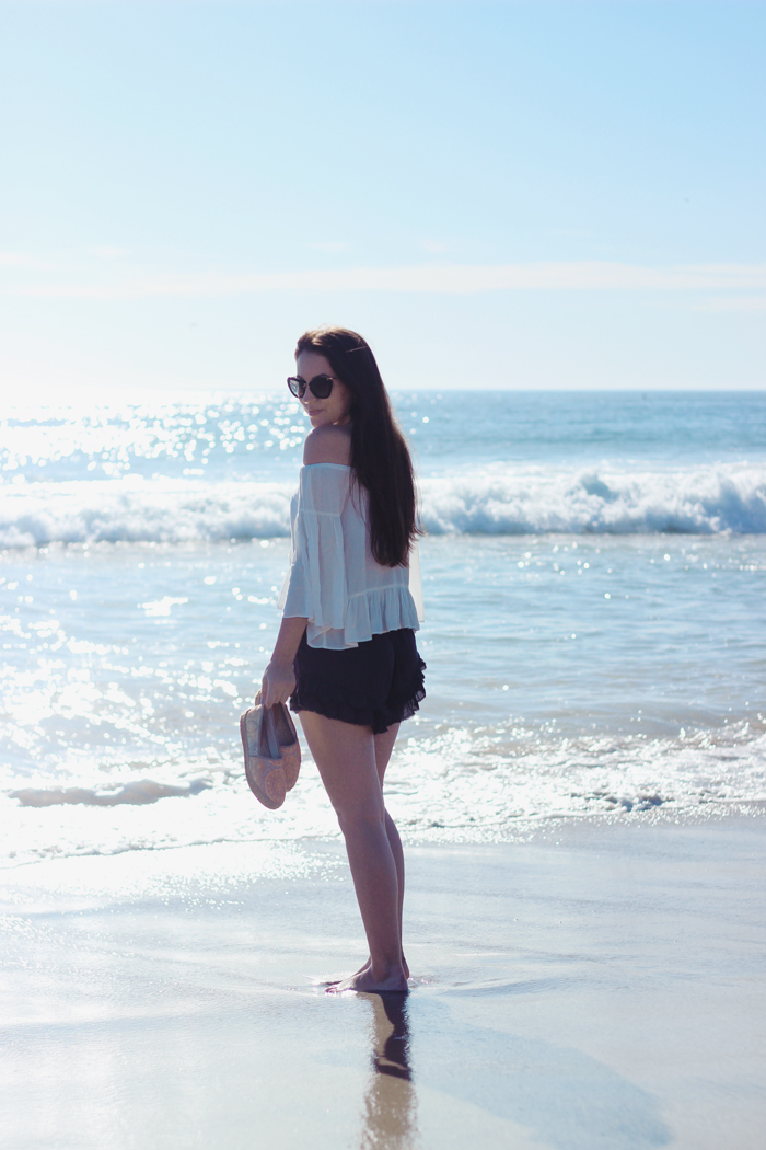 aimerose travel blog santa monica beach