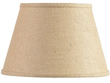 Burlap covered lamp shade tutorial the cottage mama are a little out of my budget these days but i think they do such a wonderful job of putting rooms together with color texture and natural elements aloadofball Gallery