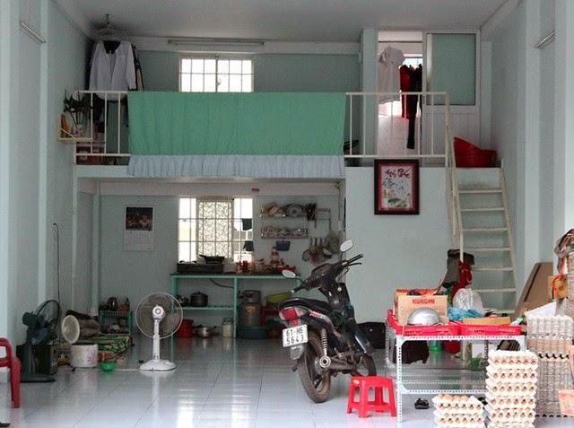 Phối cảnh bên trong nhà ở xã hội Becamex Bình Dương