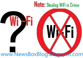 stealing free wifi hotspots signals is crime