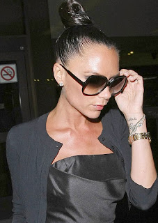 Victoria Beckham Hairstyles and Tattoo Gallery