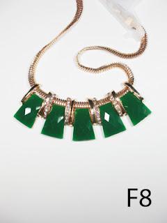kalung aksesoris wanita f8