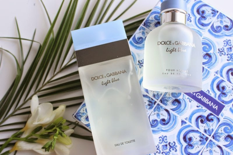 Dolce and Gabbana Light Blue For Him and Her