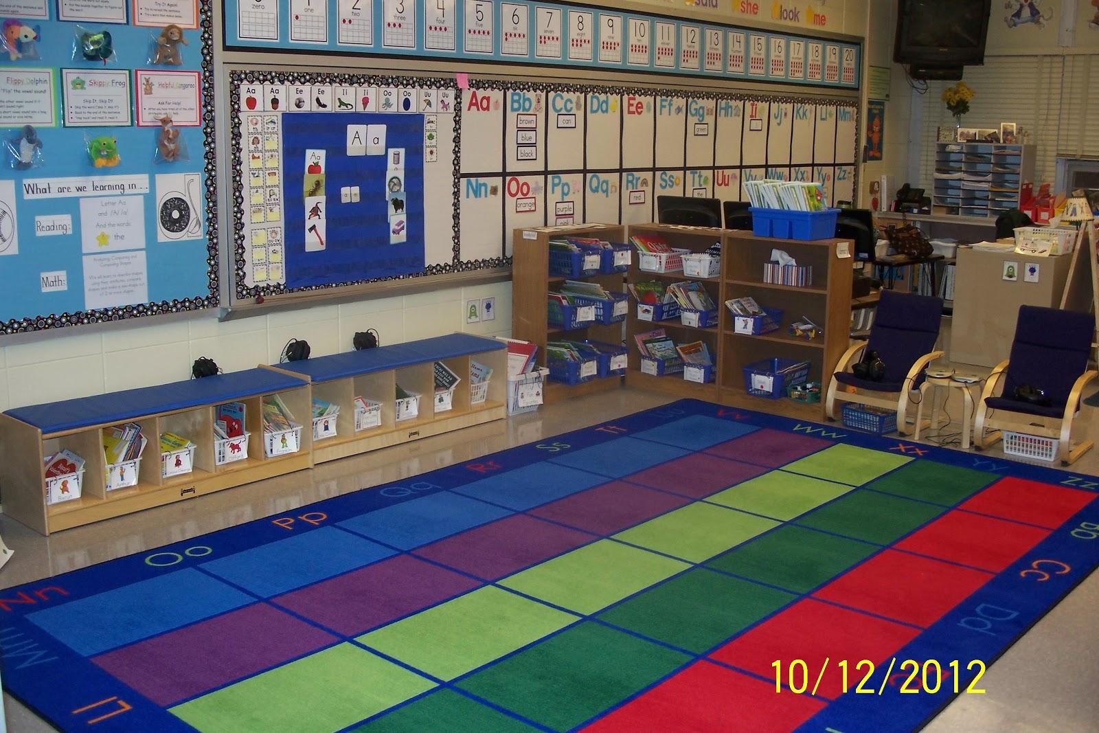 Mrs Egleys Kindergarten Classroom tour for 20122013