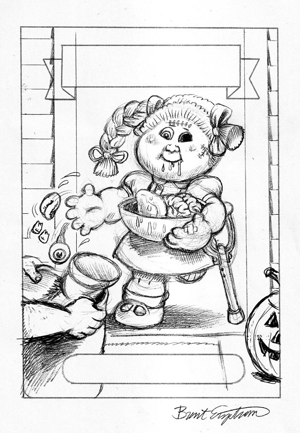 garbage pail kids coloring pages - photo#10