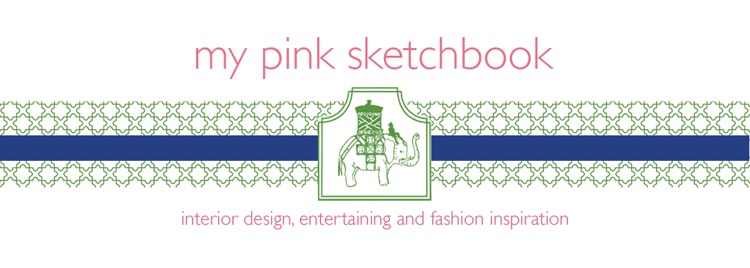 my pink sketchbook