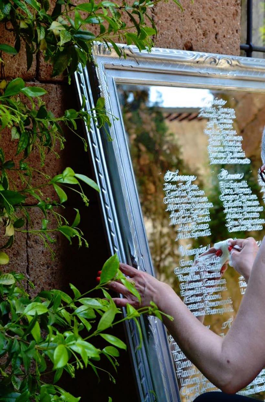 Tableau de mariage allo specchio ceciliab - Cosa significa quando si rompe uno specchio ...