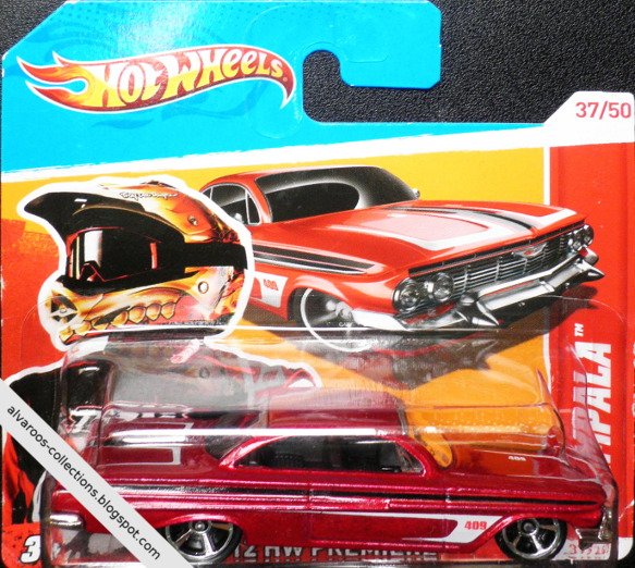 HotWheels collection 2012 - '61 Chevrolet Impala