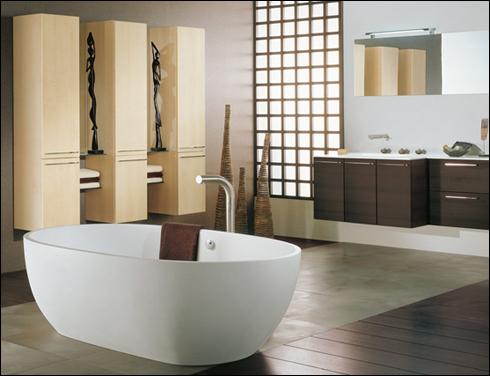 Decoraci n de ba os modernos en 10 simples consejos for Modele salle de bain contemporaine