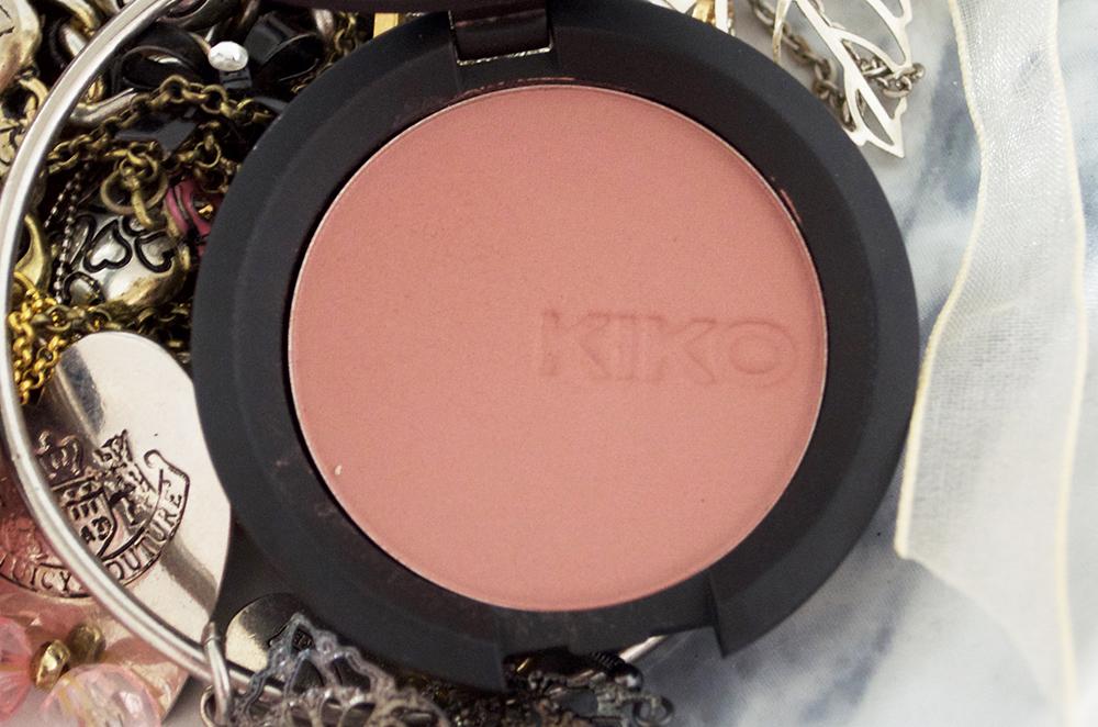 Kiko Soft Touch Blush 105 Dark Rose