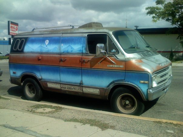Dodge Conversion Van >> Stabbin' Cabin ... on wheels: Mystery of the GOOD TIMES VAN