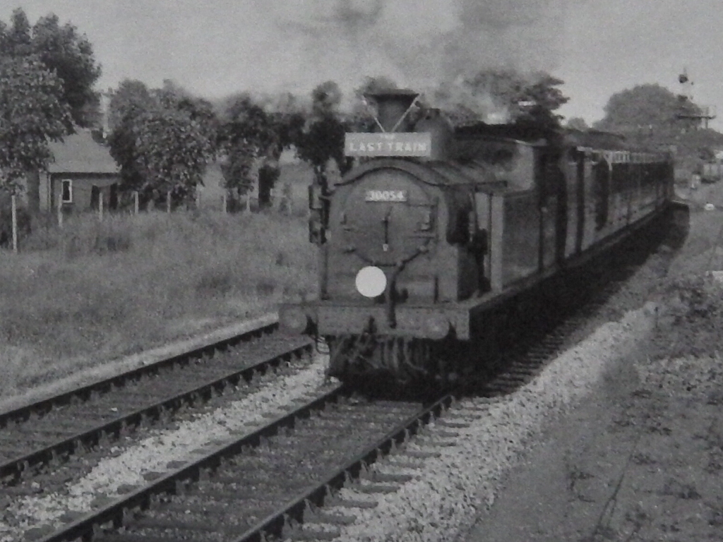 Last Meon Valley Train