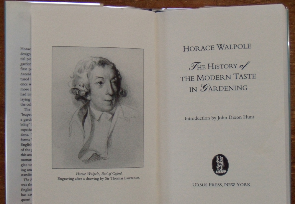 walpole essay Reading has 11 ratings and 6 reviews mark said: this book was bought for me by a friend for my birthday a few years ago it is one of a series of essays.