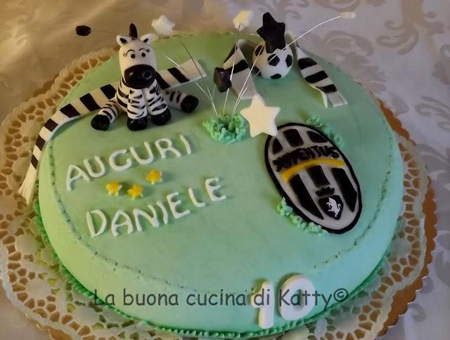 La Buona Cucina Di Katty Torta Juventus Per Il Compleanno Di Daniele