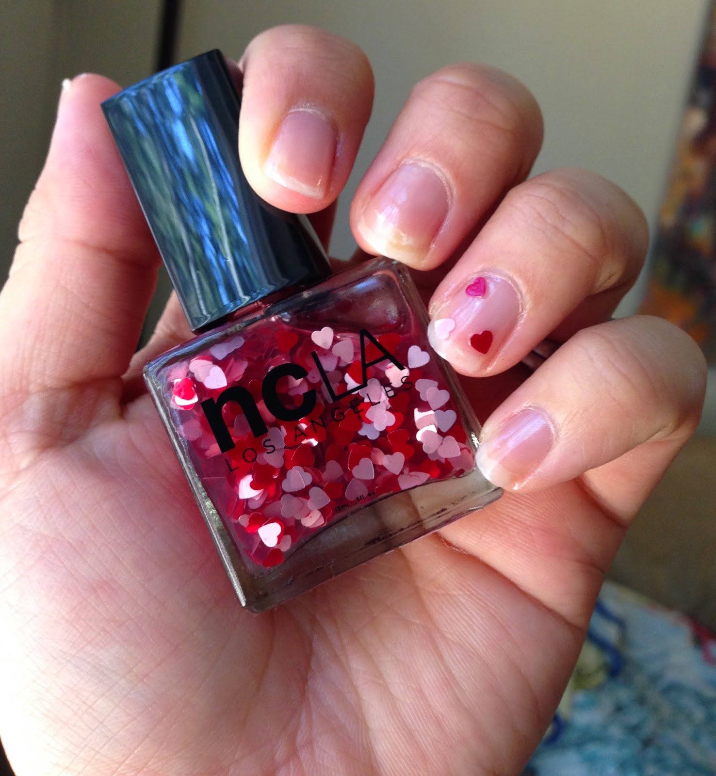 Confessions Of The Pretty Kind: NCLA Nail Laquer In, \