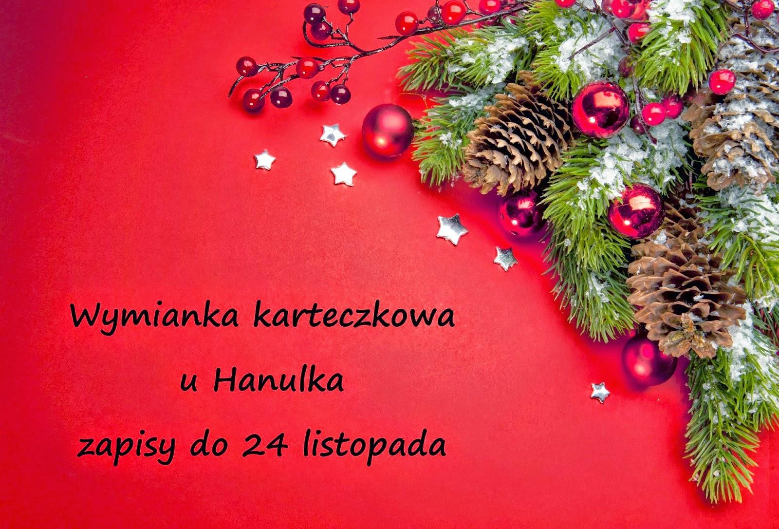 Wymianka bożonarodzeniowa u Hanulka