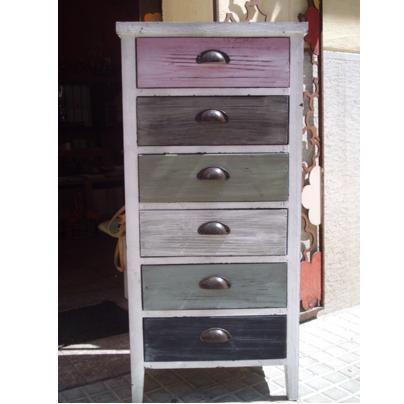Popurri regalos decoraci n complementos muebles vintage for Mueble cajones pequenos