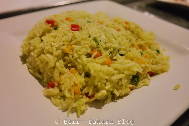 berry dakara, cakesiena, inagbe grand resort, inagbe, fried rice