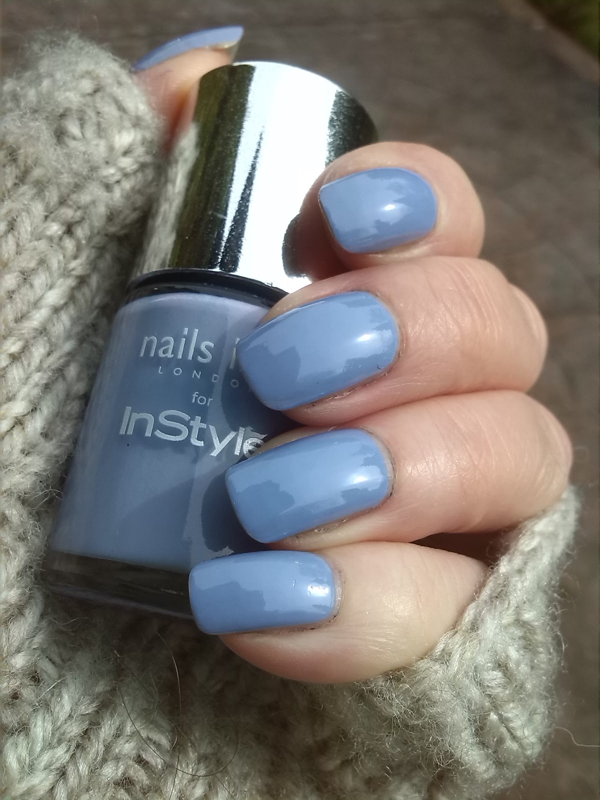 Nails Inc Instyle Bluebell