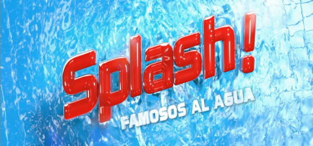 Logo Splash! Famosos al agua
