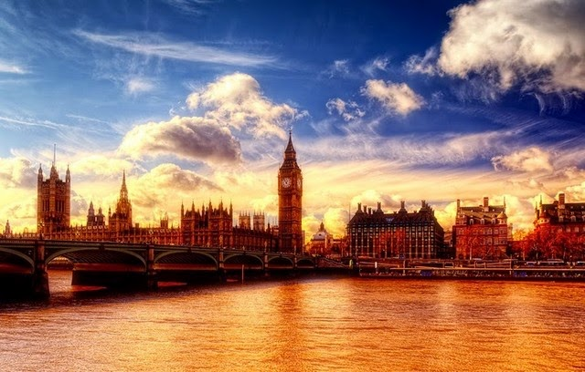 big ben london thames river england picture