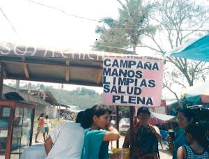 LIC. MARLENI CAJUSOL, PARTICIPANDO EN CAMPAÑA DE MANOS LIMPIAS