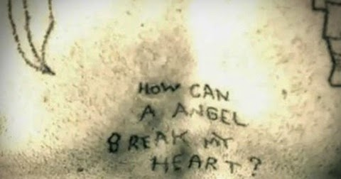how can a angel break my heart tattoo