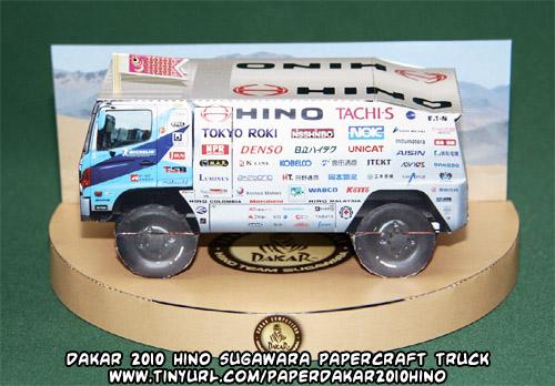 Ninjatoes' papercraft weblog: D/L #Dakar 2010 #papercraft ...