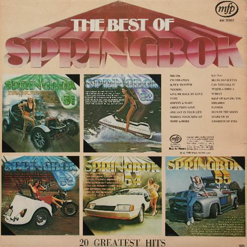 Springbok: Springbok Hit Parade Best Of / Top Hits