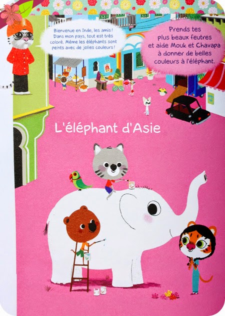 Mon livre d'activités pour découvrir le monde avec Mouk - Marc Boutavant - Albin Michel