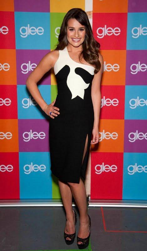 Red Carpet Dresses: Lea Michele